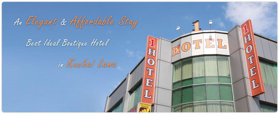 1 Hotel Kuchai Lama. An elegant and affordable stay. Best Ideal Boutique Hotel in town.
