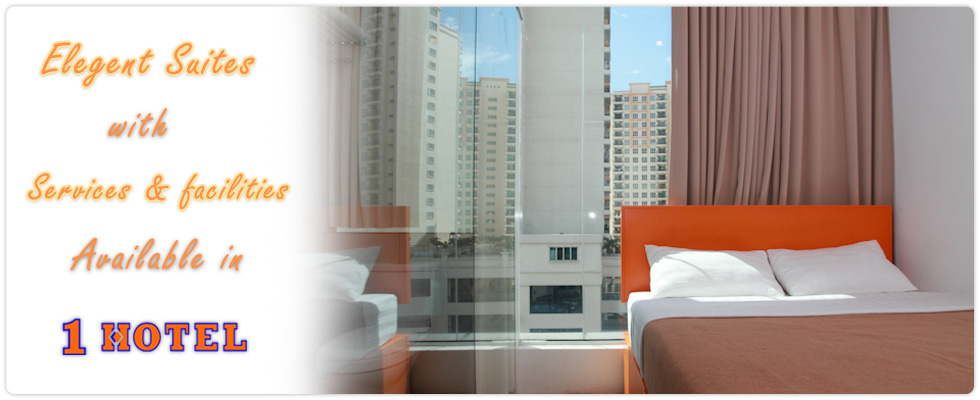 Elegant Suites with Services & Facilities available in 1 Hotel