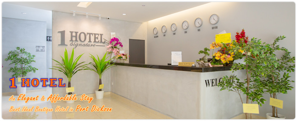 1 Hotel Port Dickson Waterfront. An elegant and affordable stay. Best Ideal Boutique Hotel in town.